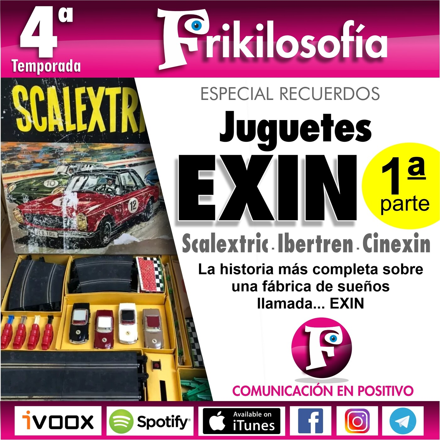 4x05. JUGUETES EXIN. 1ª parte. CINEXIN, SCALEXTRIC, IBERTREN...