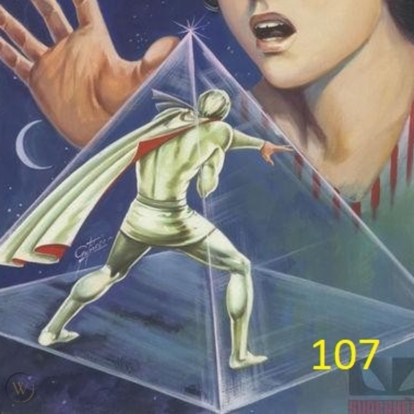 30x107 Muerte en la cuarta dimensión Kaliman