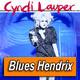 CYNDI LAUPER · by Blues Hendrix