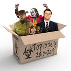 ECDS Especial confinamiento. TOP 10 Películas 2010-2019