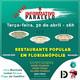 Restaurante popular em Florianópolis - Informativo Paralelo #91