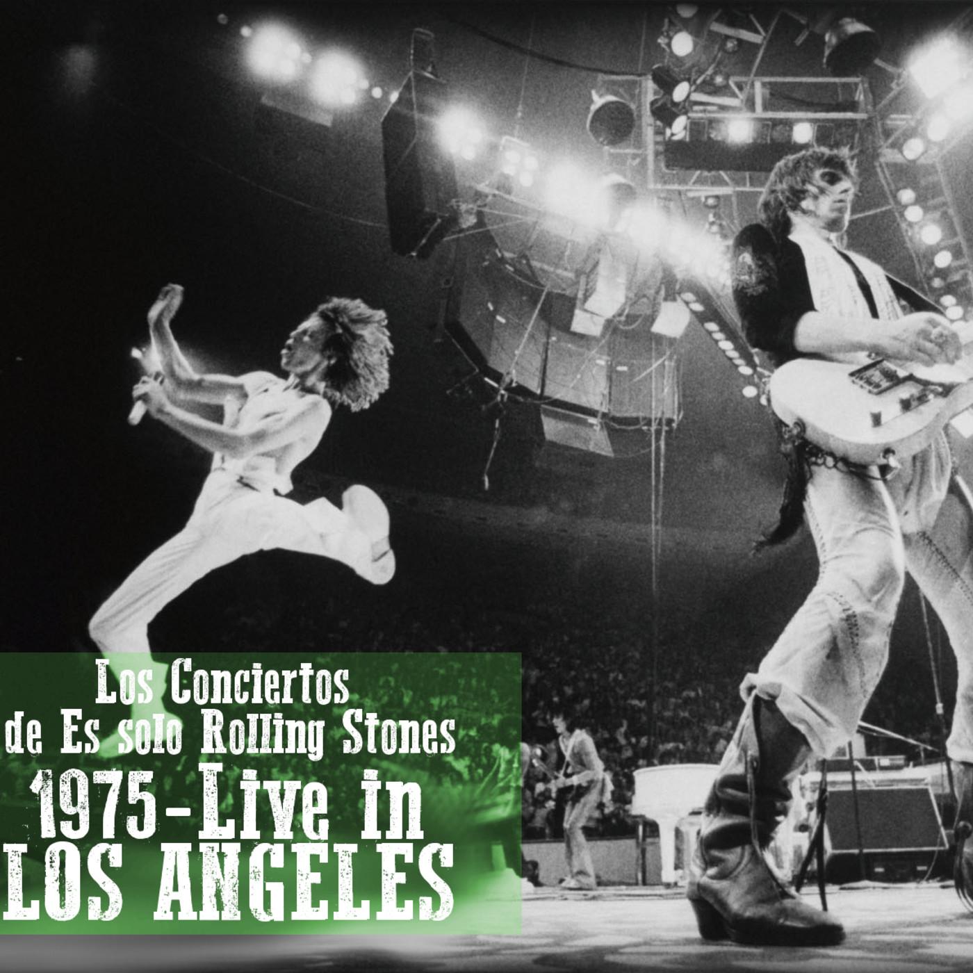LA FORUM 1975 - Los conciertos de Es solo Rolling Stones