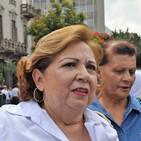 Entrevista con Guadalupe Aguilar de Fundej, sobre el informe de desaparecidos que se presentó este lunes