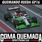 Quemando Rueda T01 GP16 - Especial test F1 Barcelona 2020