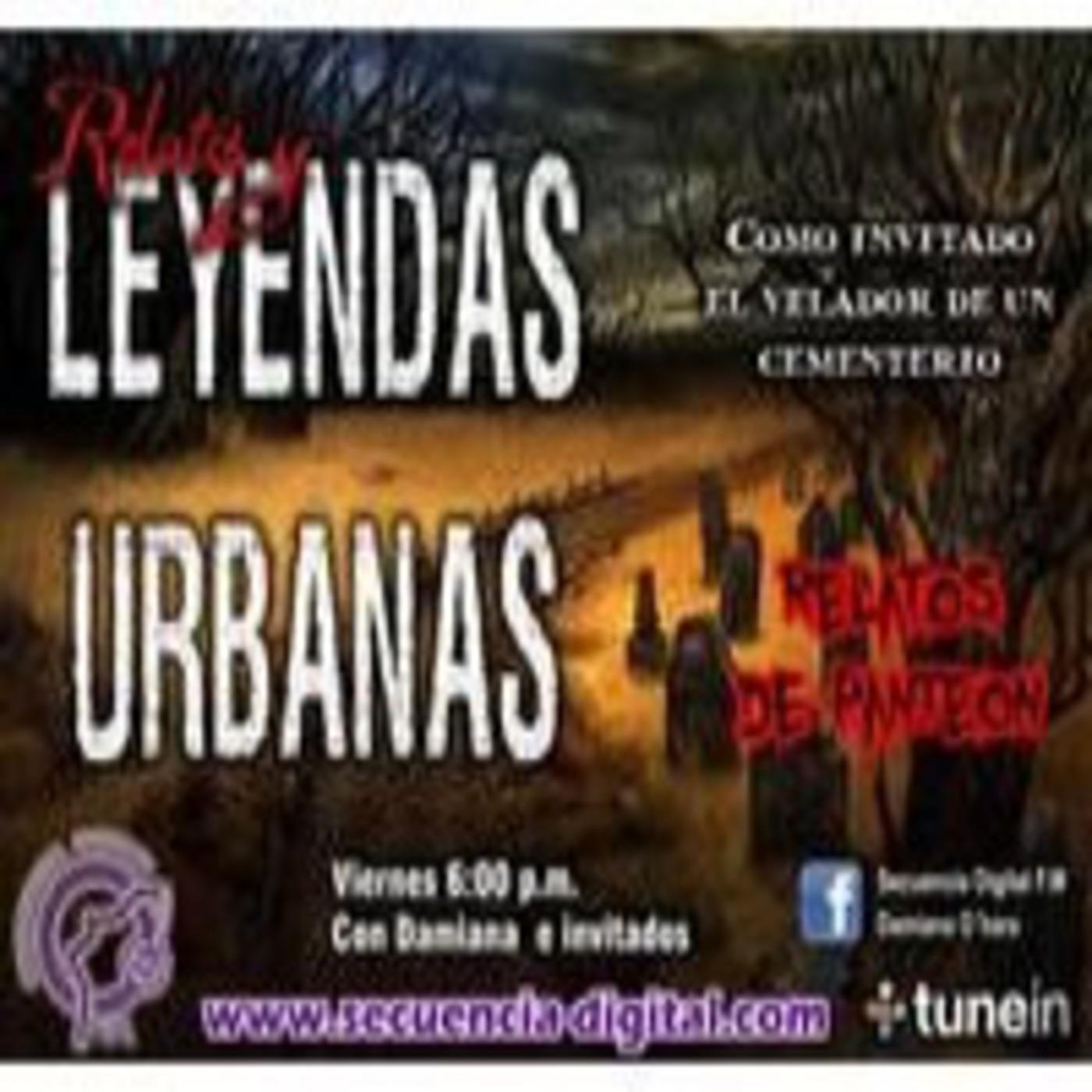 Relatos Y Leyendas Urbanas (Damiana,Ruben) Relatos de Panteon.