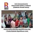 Acto Internacional de Insurrección Poética y Cultural (Federico Gracia Lorca)