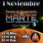 """""""VIERNES DE CONSPIRACIÓN"""" VDC Con Héctor 01/11/19 ESPECIAL """"MARTE"""""""