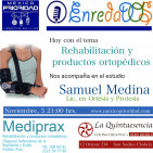 """Programa Noviembre 05, 2015 """"Rehabilitación y productos ortopédicos"""""""