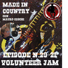"""By Mauro Secchi (MAX) 29° Episode' MADE IN COUNTRY ' VOLUNTEER JAM XX- TRIBUTE TO CHARLIE DANIELS """""""