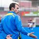 Eugenio Paulón en el post partido de semifinales de la Copa de la Reina