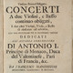 MANFREDINI, Francesco Onofrio (1684-1762) - Sinfonie da chiesa (1709)