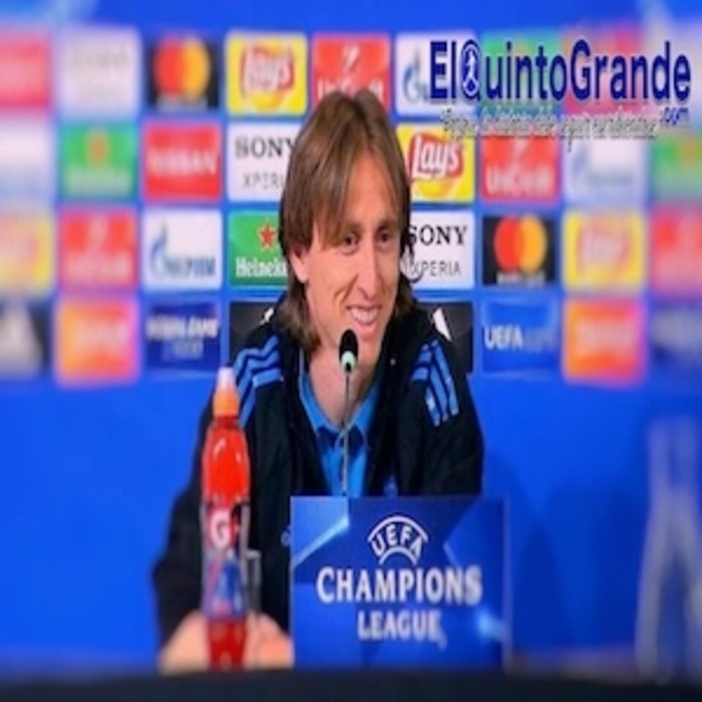 Champions League Mp3 Download: Rueda De Prensa Luka Modric Previa Al Juventus