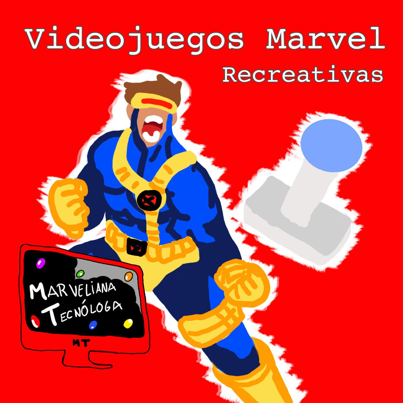 #MarvelianaTecno Marvel en los videojuegos de recreativas