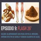 Ep 9: Selenio, un antioxidante que ayuda a eliminar el mercurio, entreno efectivo de gemelo y bebidas calientes de cacao
