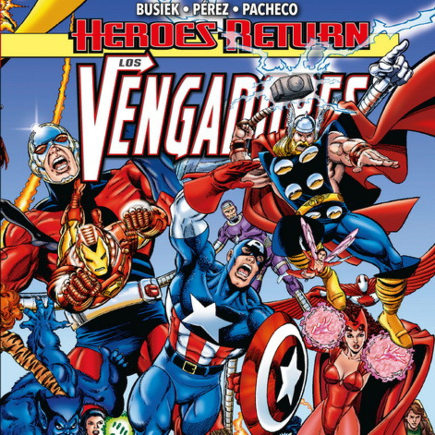 Los Vengadores:Heroes return-Las cualidades del líder con referencias artúricas