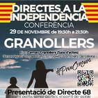 Conferència DIRECTES A LA INDEPENDÈNCIA a Granollers - CEMAV