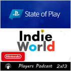 Players Podcast 2x13. Repasamos Playstation State of Play y Nintendo Indie World y mucho más...