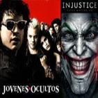 LODE 4x05 -Archivos Ligeros- JÓVENES OCULTOS, Injustice: Gods Among Us