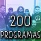 Programa 200 (26-8-17): Programa 200, música y especial segundas vueltas