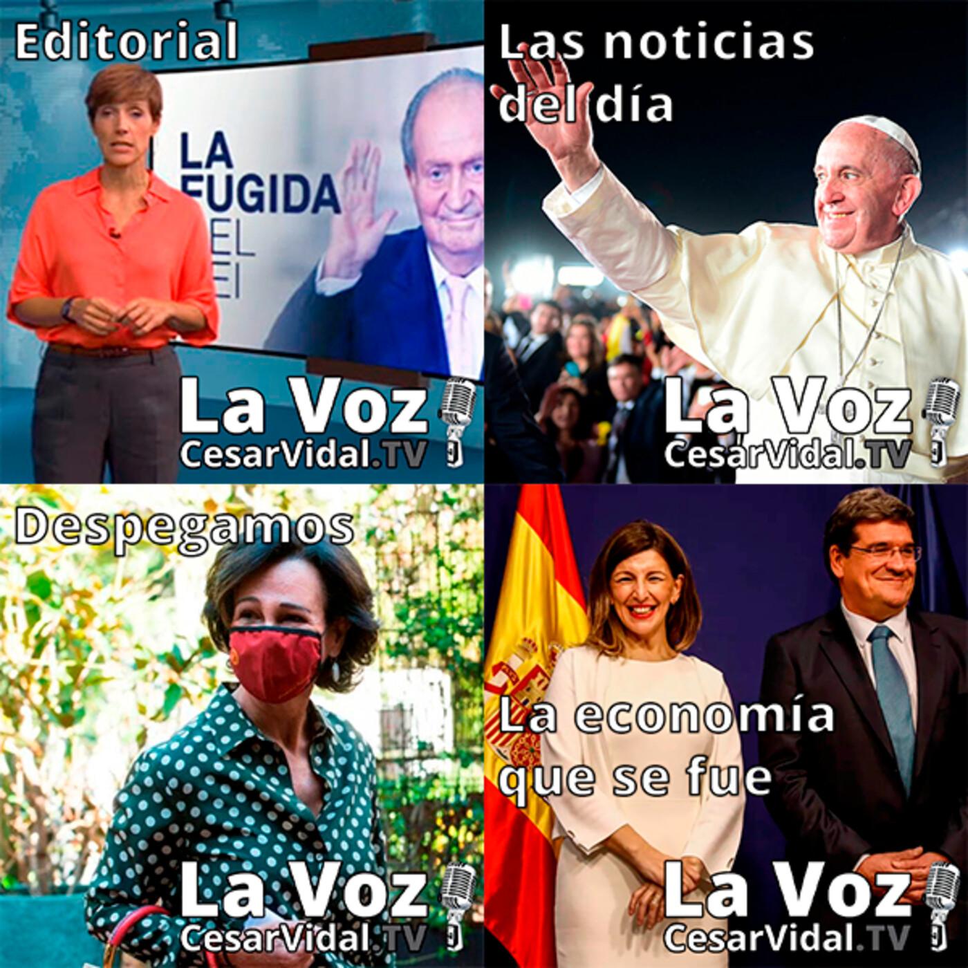 Programa Completo de La Voz de César Vidal - 22/09/20