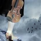 El sonido de una vela y el Solo de Violín. Use Auriculares