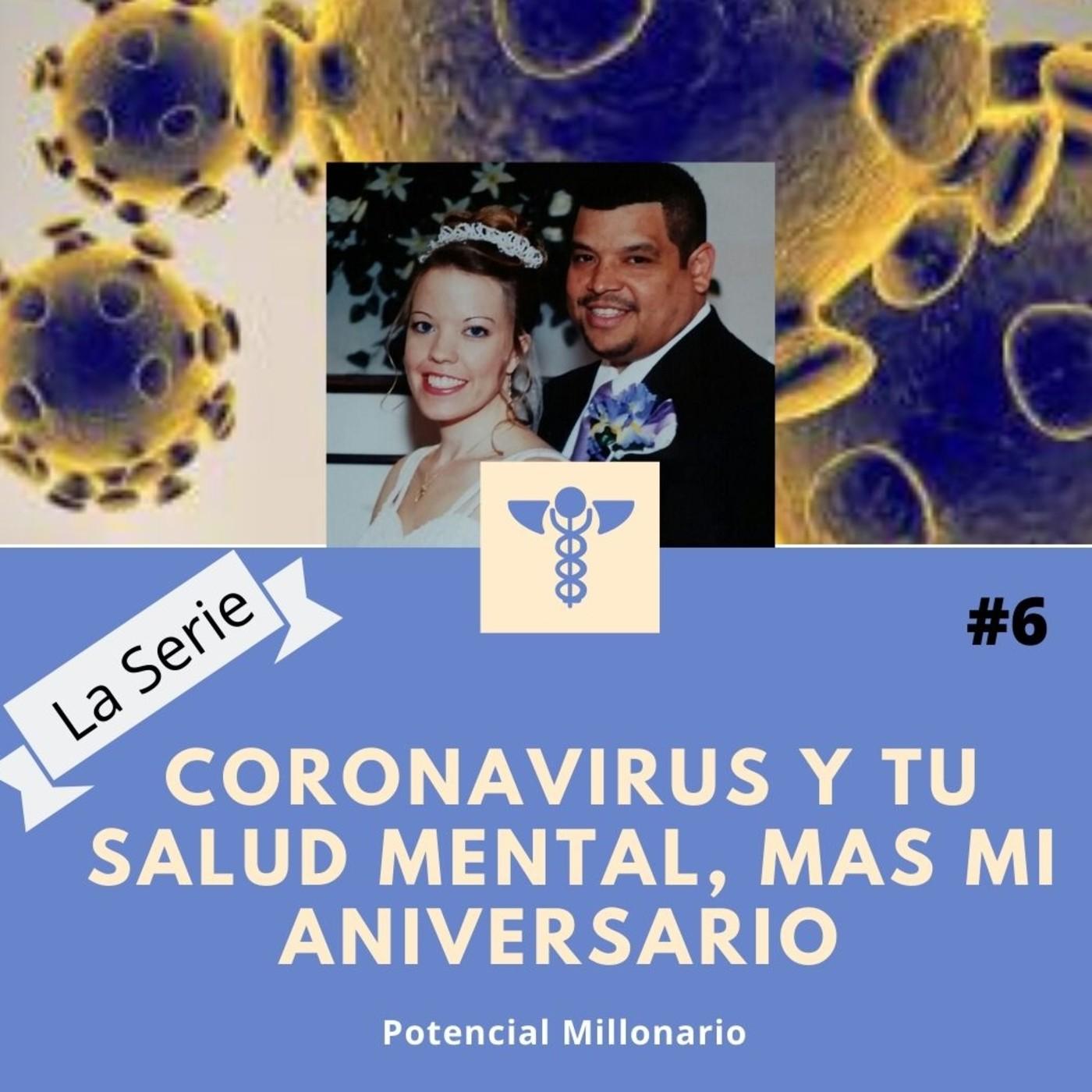 Coronavirus y tu Salud Mental mas mi aniversario