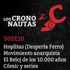S02E10 - Hoplitas, Anarquía, Reloj 10.000 años, Cómic y series TV.