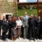 El Rey Felipe VI visita El Convento de Mave