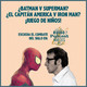 El Combate del Siglo: Spiderman vs Woody Allen