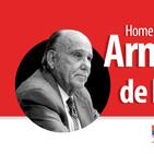 Homenaje especial en honor de Armando de la Torre