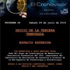 El Cronovisor. Programa 44. Espacio Exterior.