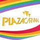 Plaza Carnaval (16-08-17) - Junto a Cassie Fox, fundadora del LOUD WOMEN Fest y el artista visual José Gómez.