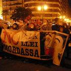 Manifestación contra la Ley Mordaza y VII Marcha por el cierre de los Cie-VALENCIA.