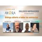 Diálogo abierto a todos los asistentes. Claudio, Jose Maria , Carles, Cristina Escrigas.