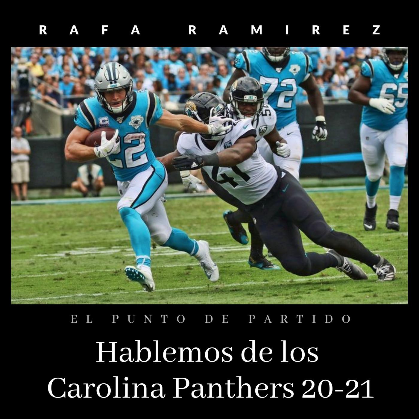 NFL Hablemos de los Carolina Panthers 20-21