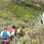 José Baez Resp. programa San Bartolomé Camina...Por los caminos de Gran Canaria-Senderismo en Familia.