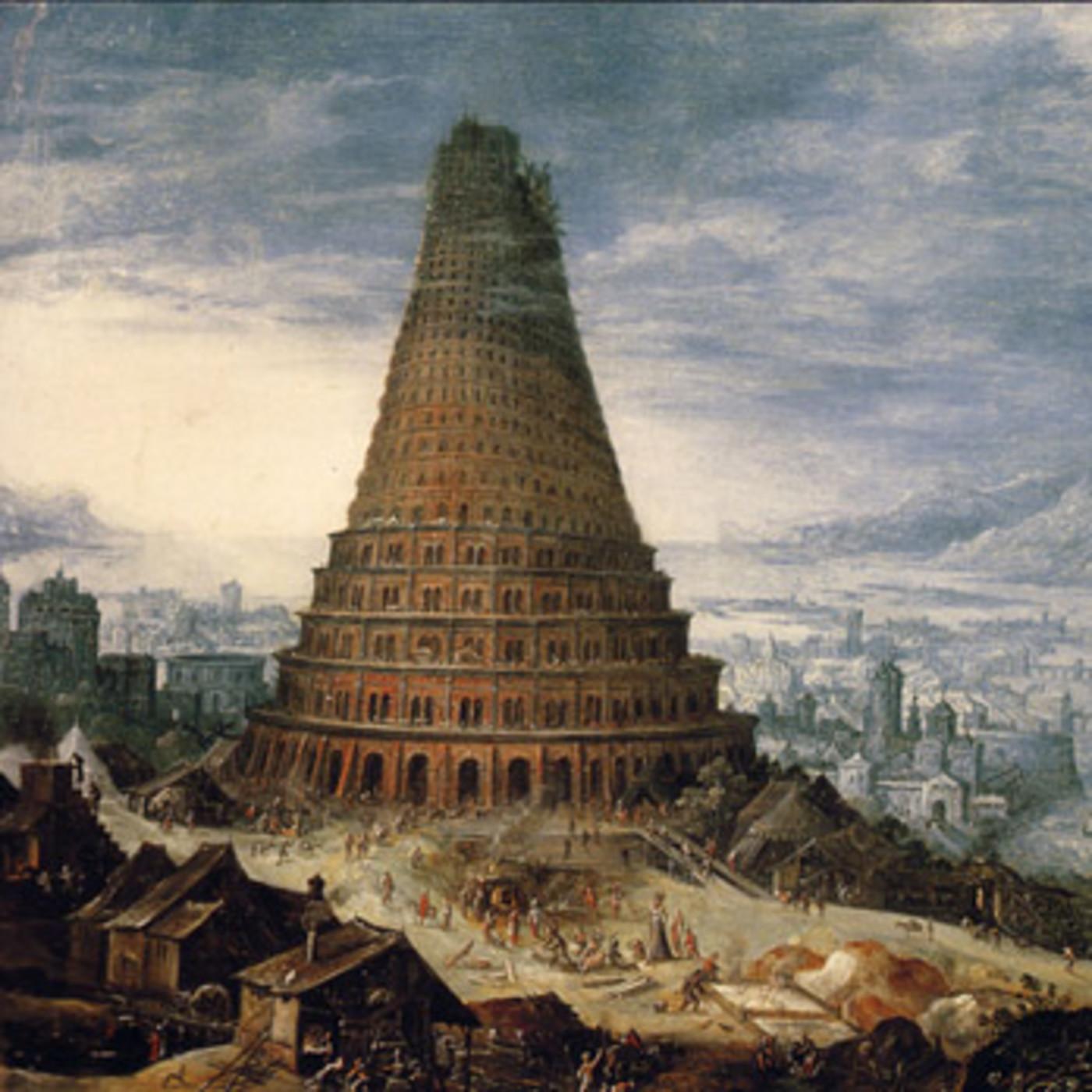Desmontando la historia T4: La torre inclinada de Pisa · La torre de Babel
