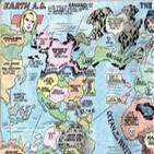 Charrando de tebeos episodio 60: La geografía en los tebeos