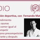 Episodio 74: Nutrición deportiva y entrenamiento en ayunas con Fernando Mata