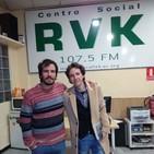 El corazón al viento 129 (17 enero 2019). Entrevista a Santy Pérez.