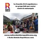 La Guardia Civil expedienta a un grupo folk por cantar contra la monarquía