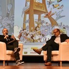 Charla entre Francisco Ibáñez y Carlos Areces , entrevista a Bouman y by Martinez PARANOIDLAND