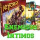 KeyForge el juego de mesa comentado en Enemigos Intimos