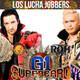Cartel de NJPW/ROH Supercard y Luchando Con Mi Famlia