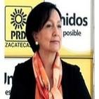Lic. Amalia García 'ATRACO NACIONAL', con Nino Canún.
