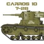 C-10#12 T-26, el pionero del arma acorazada soviética