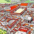 Construcciones en las calzadas romanas