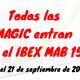 Todas las MAGIC en el IBEX MAB 15
