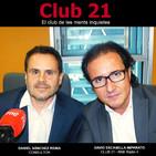 Club 21 - El club de les ments inquietes (Ràdio 4 - RNE)- DANIEL SÁNCHEZ REINA (03/06/18)
