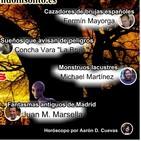 108/3. Cazadores de brujas. Monstruos lacustres. Triángulo de los suicidas. Sueños premonitorios. Fantasmas en Madrid.